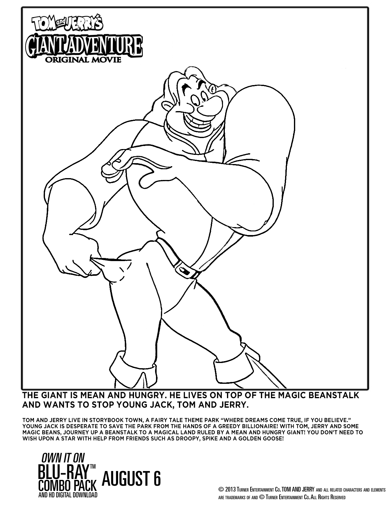 Tom and Jerry coloring pages on Coloring-Book.info | 1650x1275